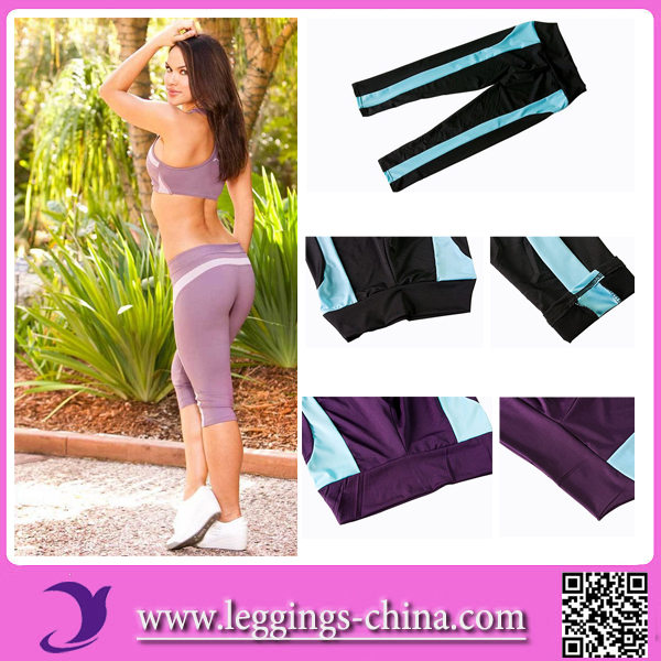 2015 RL139 Wholesale Sexy Gym Nude Colored Yoga Pants For Women