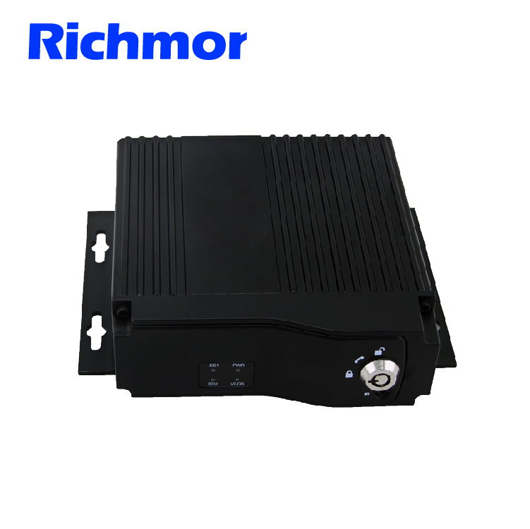 Low cost mini size 4CH 720P AHD MDVR for car trunk taxi support Dual sim card <strong>3G</strong> 4G