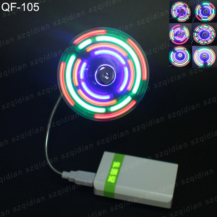 Compatible with tablet pc mini toy fan usb led fan for everyone