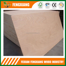 1220X2440mm Okoume plywood sheets, poplar core E1 E0 glue Commercial Plywood