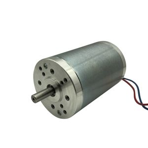 OD63mm high torque Permanent Magnet Brushed Dc Motor 12V 24V 36V 40V 48V 60v power 50w 100w 150w 200w