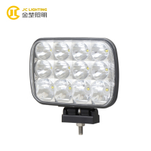 Hi-low Beam 7x6 LED Headlight With 12pcs 5W Crees Chip CAR LED Light For Truck, 4WD, Cars, Boat, Off Road