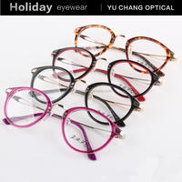 tr90 eyewear china wholesale low price optics eye wear round rim beautiful eyeglasses ladies formal wear design