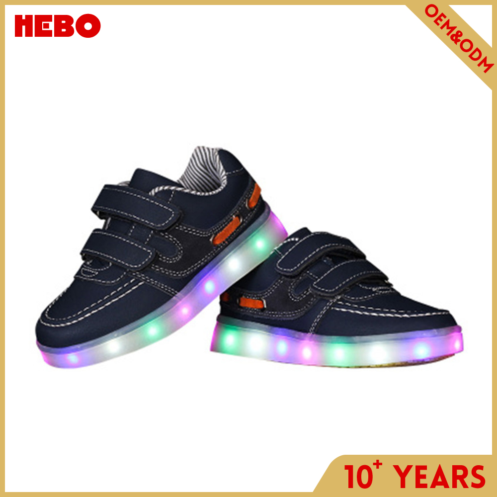 Comfortable new design girl led shoes