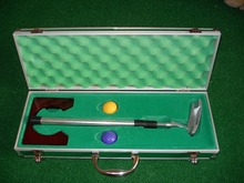 High end executive golf putting gift set
