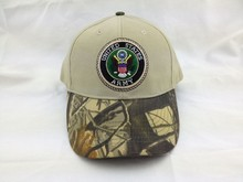 Custom Circular Pattern Embroidery Logo Stone Camo Brushed Cotton Cap And Hat Wholesale For Sportsman