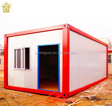 Flat pack container house portable toilet self contained cheap prefabricated container house
