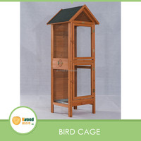 Wooden two layers bird cages