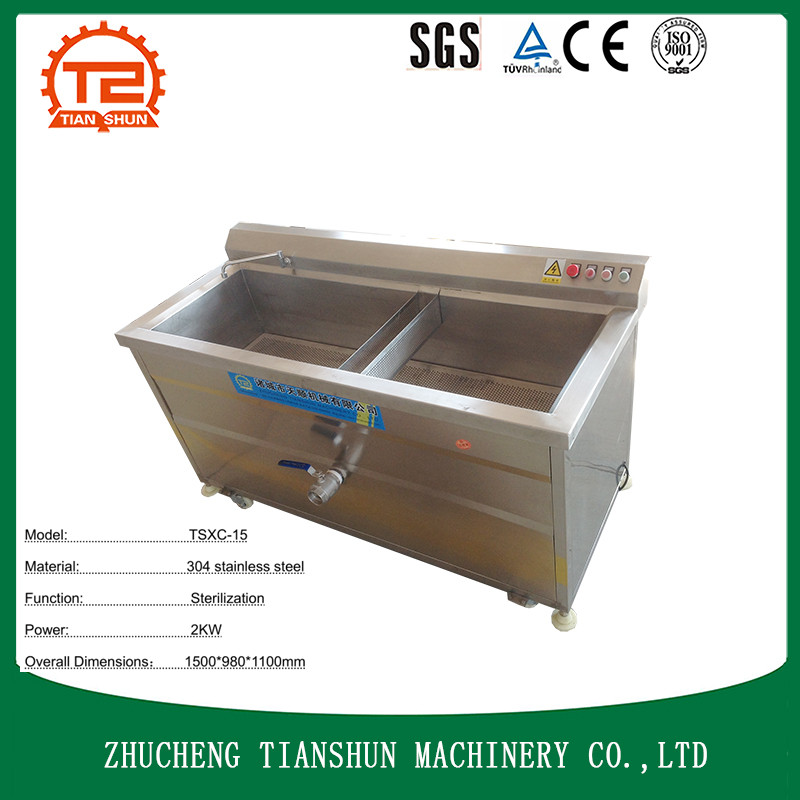 ozone bubble cleaner and washing machinery for fruit sterilization