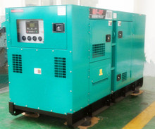 electric start water-cooled brushless 800kw silent diesel generator set
