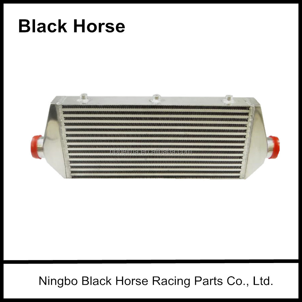 Hot selling Black Horse Aluminum Intercooler Core600x300x76mm Universal intercooler core