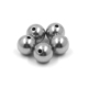 Threaded drilled carbon steel / stainless steel ball with hole