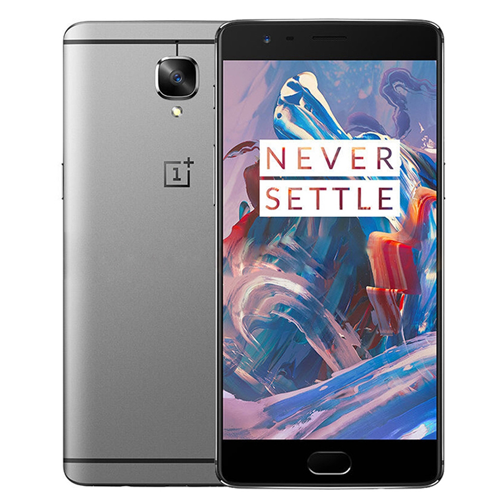 "One plus 3 Oneplus 3T LTE 4G Mobile Phone Snapdragon 821 5.5"" Android 7.0 6G RAM 64/128G ROM 16MP Fingerprint ID NFC"