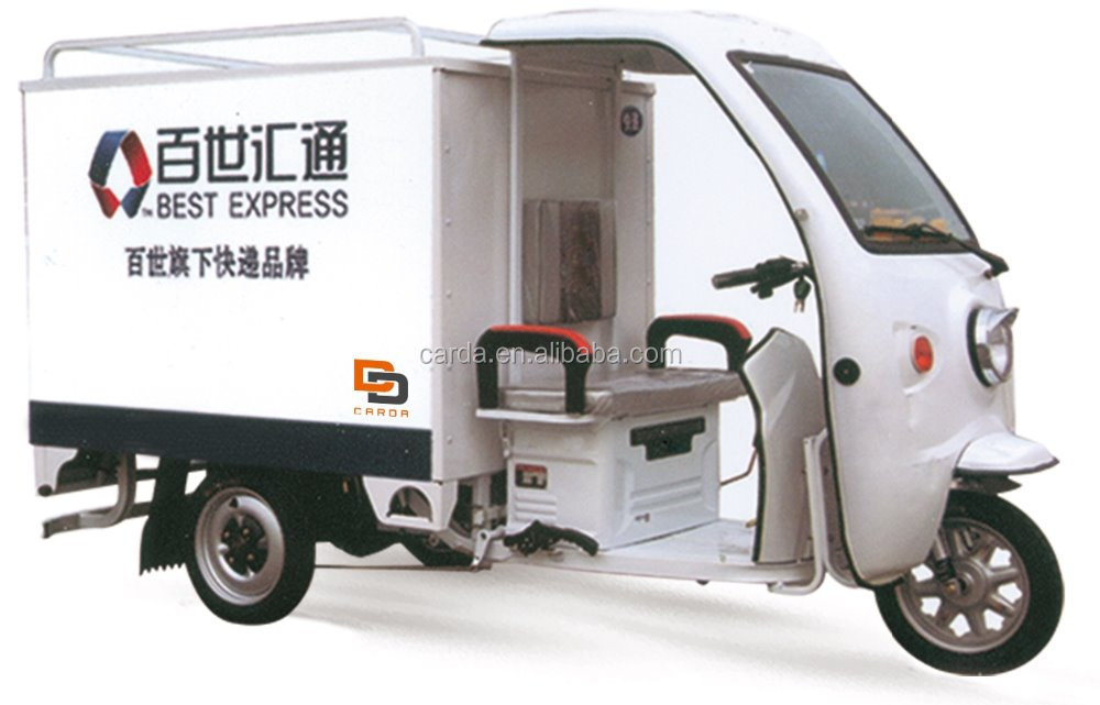 hot sale electric tricycle rickshaw for express delivery with 3 wheels