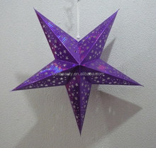 Five-pointed Star Paper Lantern Christmas 2014 New Hot Items Gifts