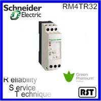 RM4TR32 three phase network RM4 T range 430 V 8A Schneider telemecanique control relay