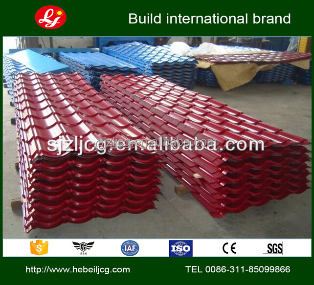 sandwich panel roof sheet Color Cated Steel Tiles