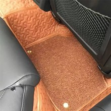 China universal cheap synthetic leather 5D car flooring mats in roll