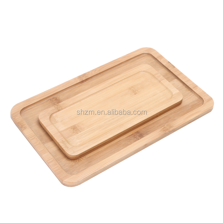New Design High Quality Bamboo Serving Tray Set Wholesale Serving Trays