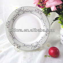 Service of modern dishes,chinese dishes,cheap porcelain plates