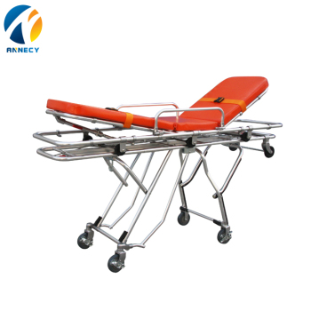 AC-AS005 china supplier More than 15 Years Manufacturer Ambulance Stretcher parts,Automatic Loading Stretcher