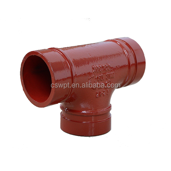 Ductile iron grooved pipe fitting and coupling u bolt