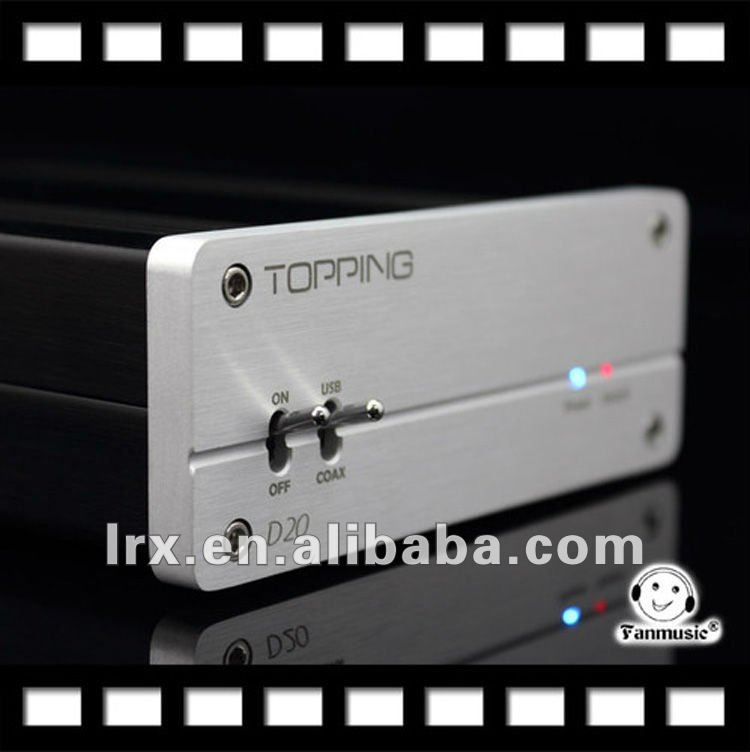 TOPPING TP-D20 24/96 High-Bit Multi-function Decoder&USB&Optical &Coaxial DAC