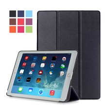 Three Folding Tablet Leather Case for iPad Pro 9.7,for Apple iPad 9.7 Accessories