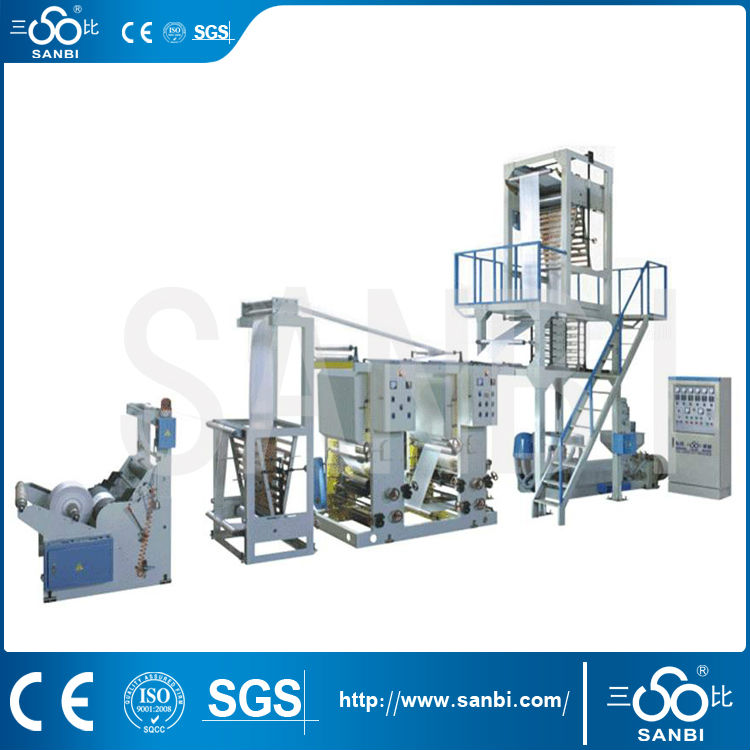 plastic blow film machine