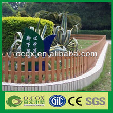 China Various Design Good Quality Wood Plastic Composite WPC Picket Fence