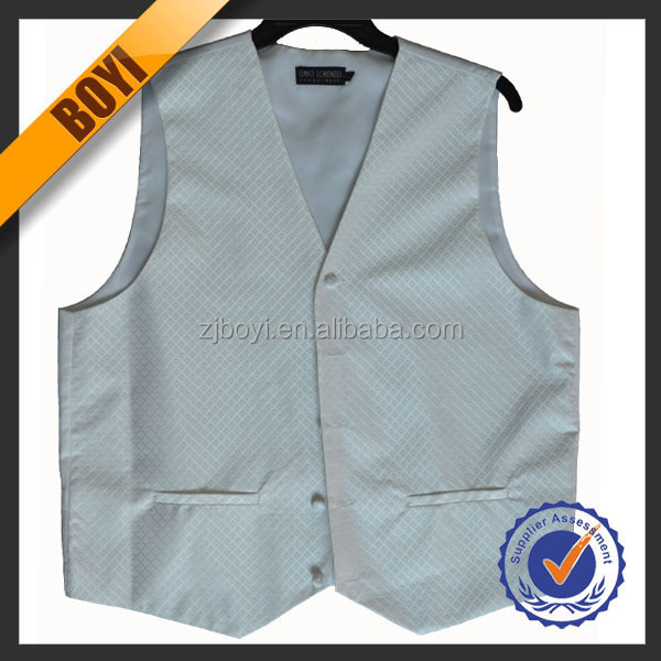 Fashion Polyester Wedding Dresses Of Mens Waistcoat