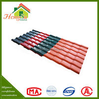 synthetic resin clay roof tiles