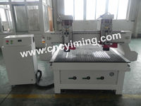 cnc milling machine 2 heads/wood cnc router