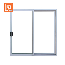 Australian standard aluminium sliding double doors with low e glass