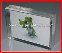 SPF-14 Square Acrylic Photo Frame,Transparent Picture Holder,Crystal Clear Acrylic Photo Block