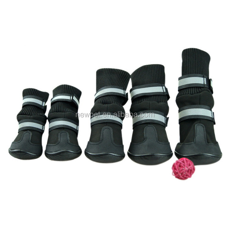 Good quality hot-sale waterproof antiskid pet dog boots