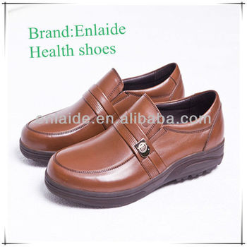 Free Shipping Health care men dress shoes TOp Brand Handmade Calf leather