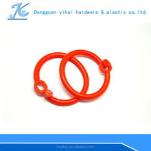 red plastic locking rings for albums