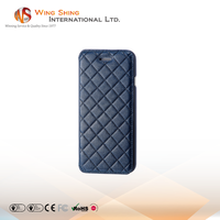 Luxury pu leather flip case for iphone6plus