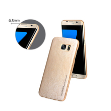 Beautiful Design 0.5mm Slim Protective Leather Mobile Phone Case Covers With 5 Colors Leather Options For Samsung S7 Edge