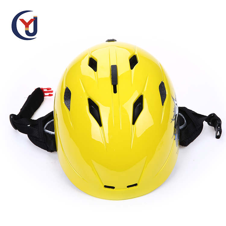 High density EPS and PC material custom painting ice speed skate helmet with CE EN 1078 approved