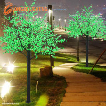 Artificial LED green led cherry blossom tree lights for lighting project