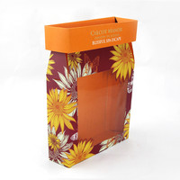 Recycle paper box cosmetic gift packaging box