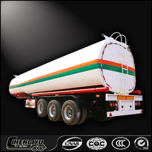Shandong Chnegyu supply 3 axle fuel tanker / Oil/Diesel tank semi trailer