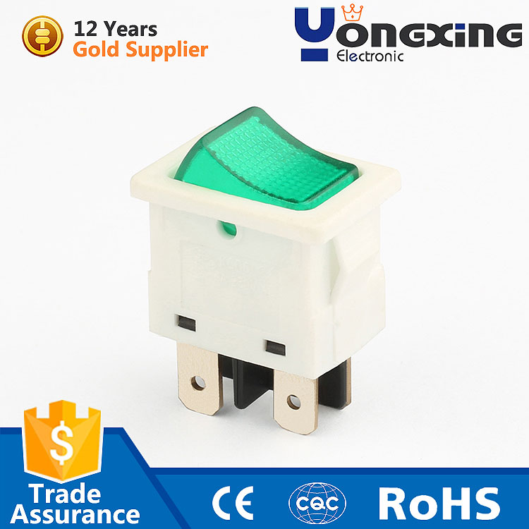 hot selling 6a 250v carling 4 pin rocker light switch
