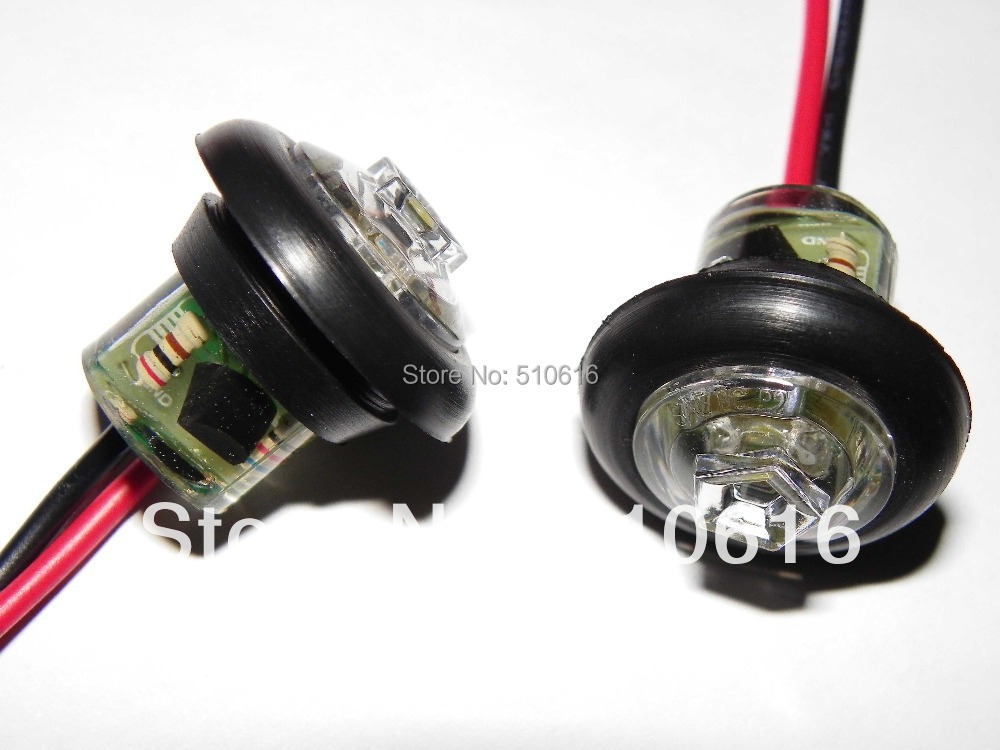 Buy Freeshipping 10 waterproof 1224V 11 inch LED Truck Clearance