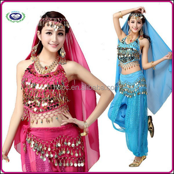 2015 hot wholesale sexy belly dance costume HSCC003