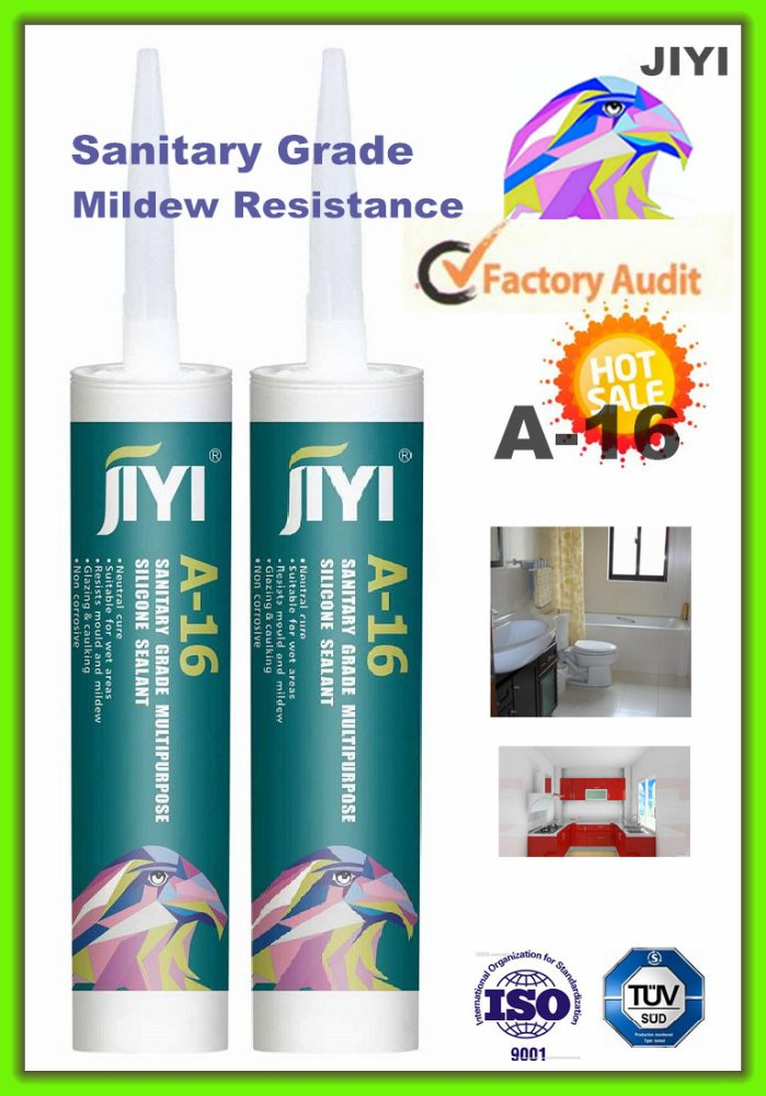 oem a16 acetate neutral glass partition enclosure silicone sealant