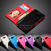 For Nokia 950 Leather Case, For Nokia Lumia 950 Flip Stand Leather Case Mobile Phone Vintage Case
