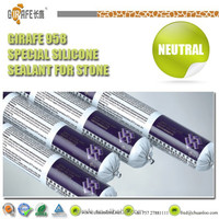 Marble Silicone Sealant strong adhesive to stone
